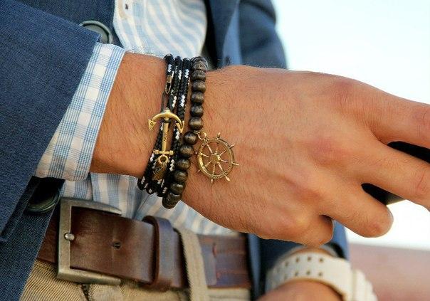 Фото мужские браслеты своими руками