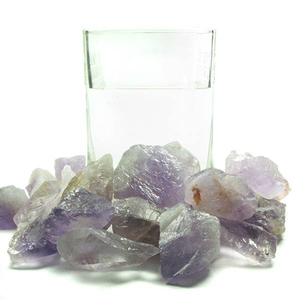 Зарядка воды камнями